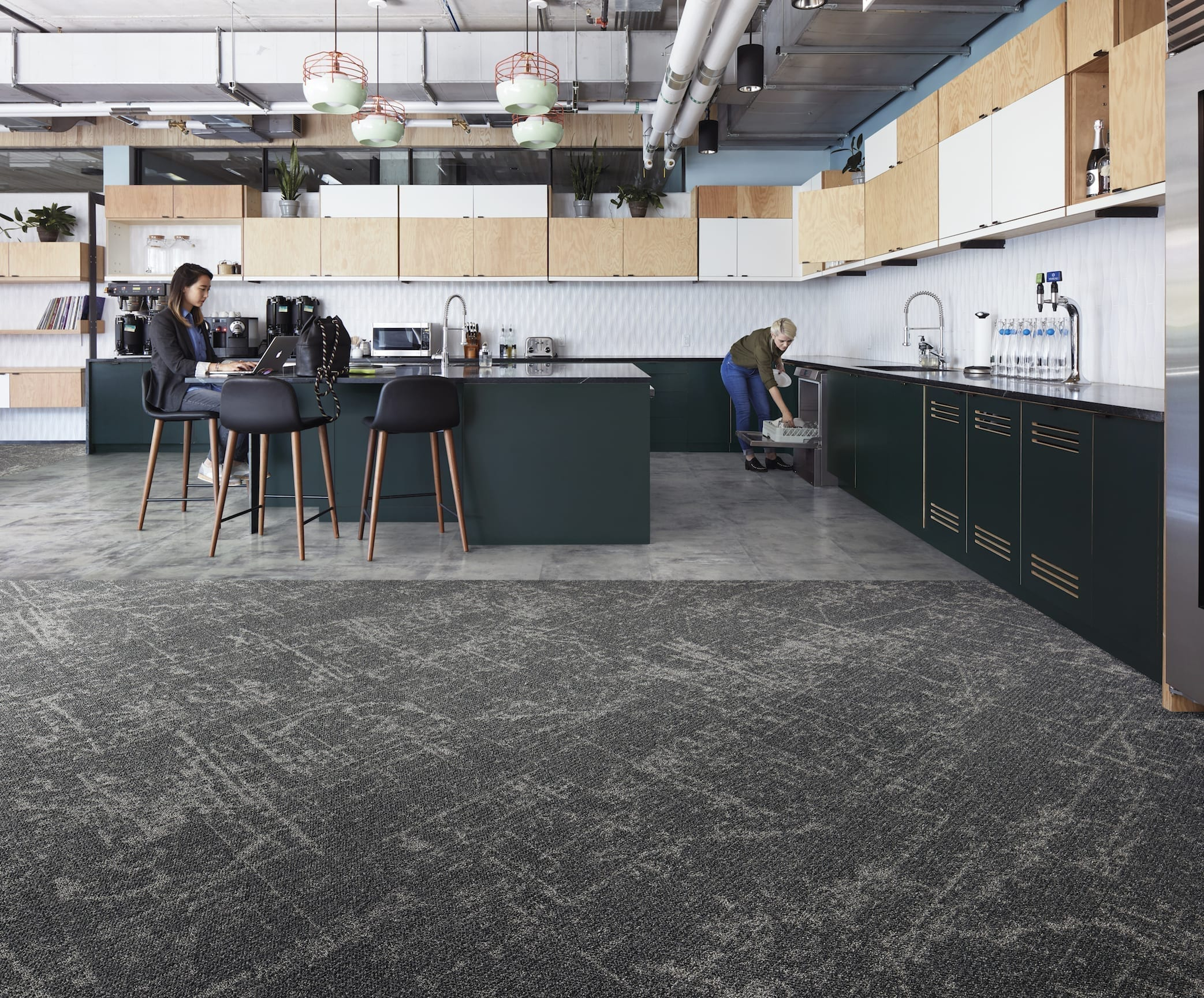 WIDE DESIGN POTENTIAL FOR NEW 'CALMING' NEUTRAL CARPET TILE FROM INTERFACE