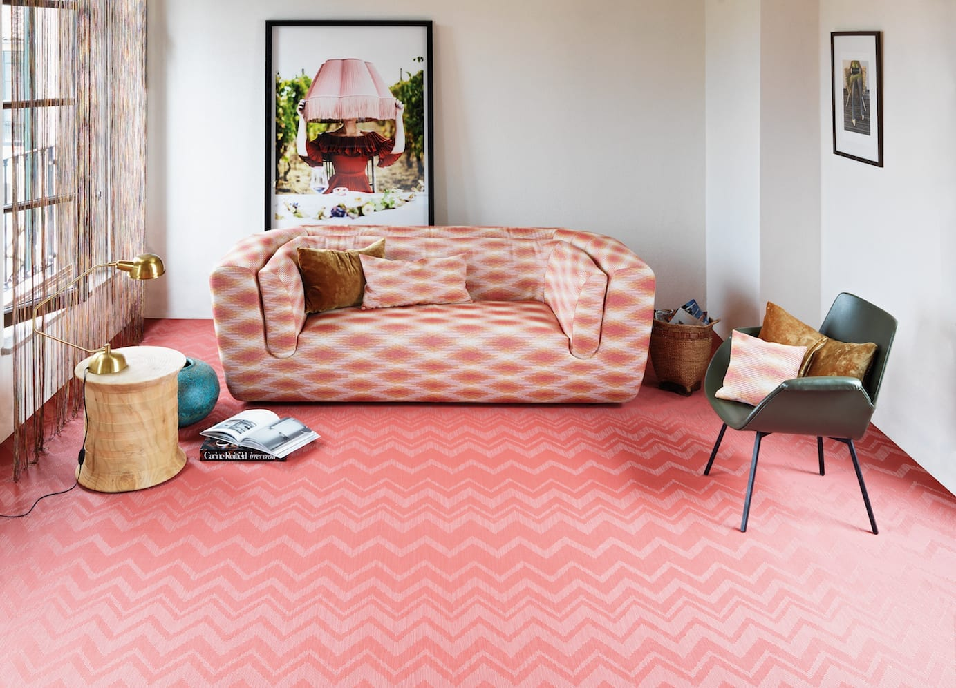 "NEW MISSONI HOME COLLECTION – A ""COLOURFUL EXPLOSION"" FROM BOLON"
