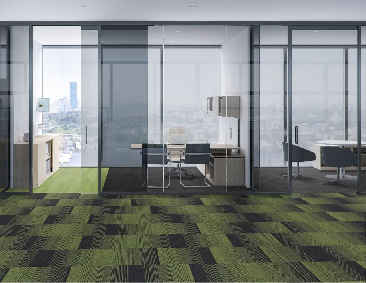 INCREASING DEMAND FOR INTERFACE CARPET TILE RANGES