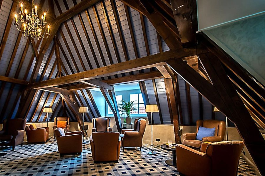 """CHIC AND CONTEMPORARY"" EGE FLOORING FOR LANDMARK DUTCH HOTEL"