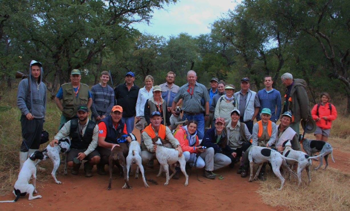 Pointer Dog Bird Trial and Wing Shooting in Zimbabwe